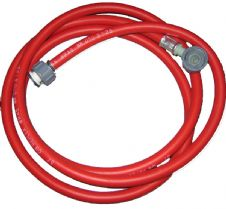 Washing Machine Hot Fill Hose Dishwasher Infill Hose 2.5m Red